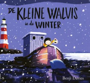 De kleine walvis in de winter cover