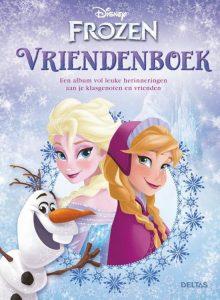 Disney Frozen – Violetta vriendenboek cover