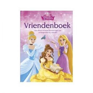 Disney Princess vriendenboek cover