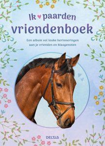 Ik hou van paarden vriendenboek cover