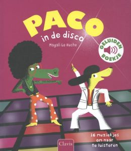 Paco in de disco cover