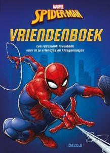 Spider-man vriendenboek cover