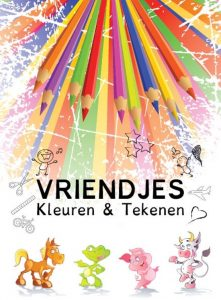 Vriendjes (Kleurboek) cover